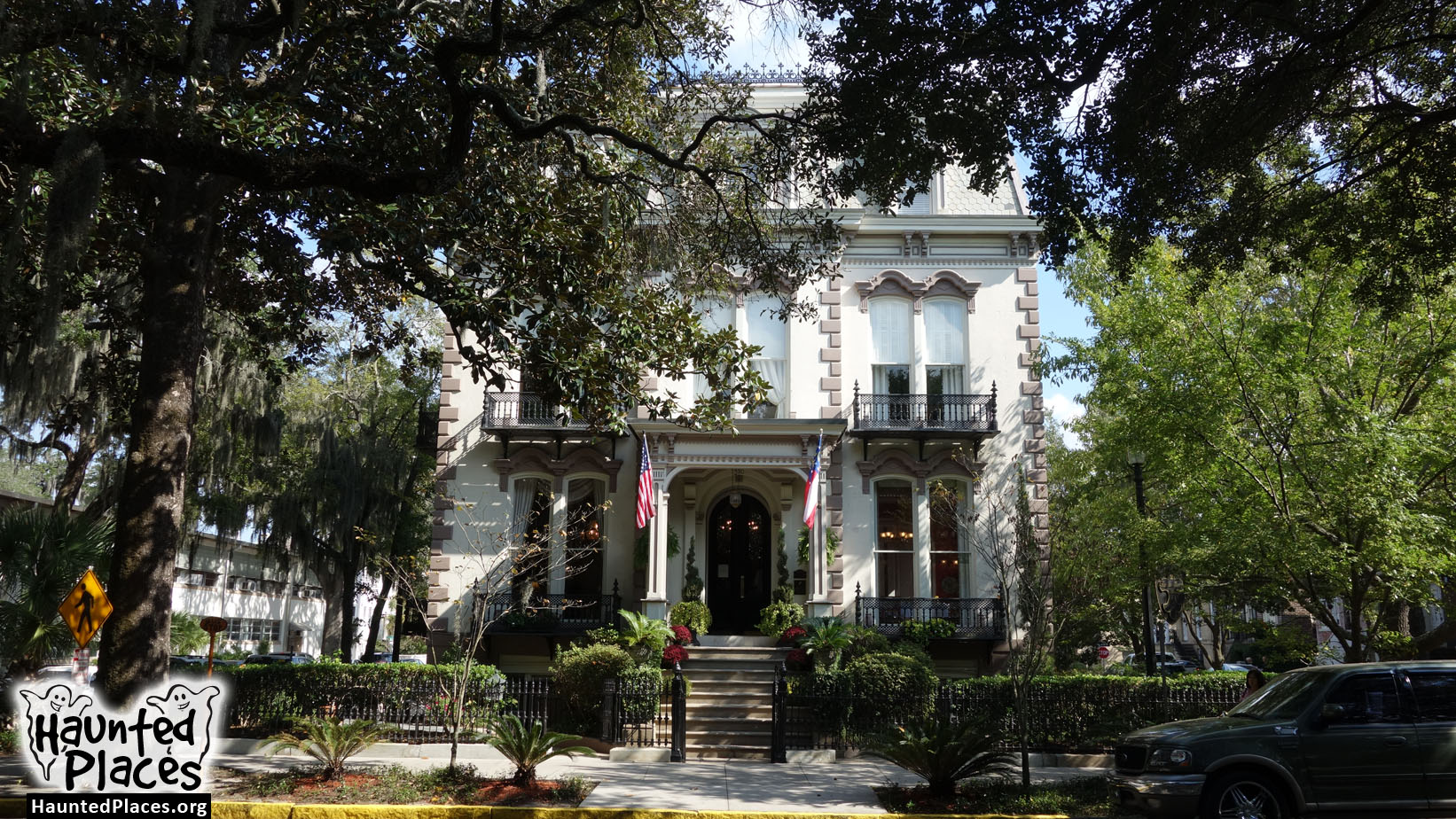 Hamilton Turner Inn Haunted Places Savannah Ga 31401