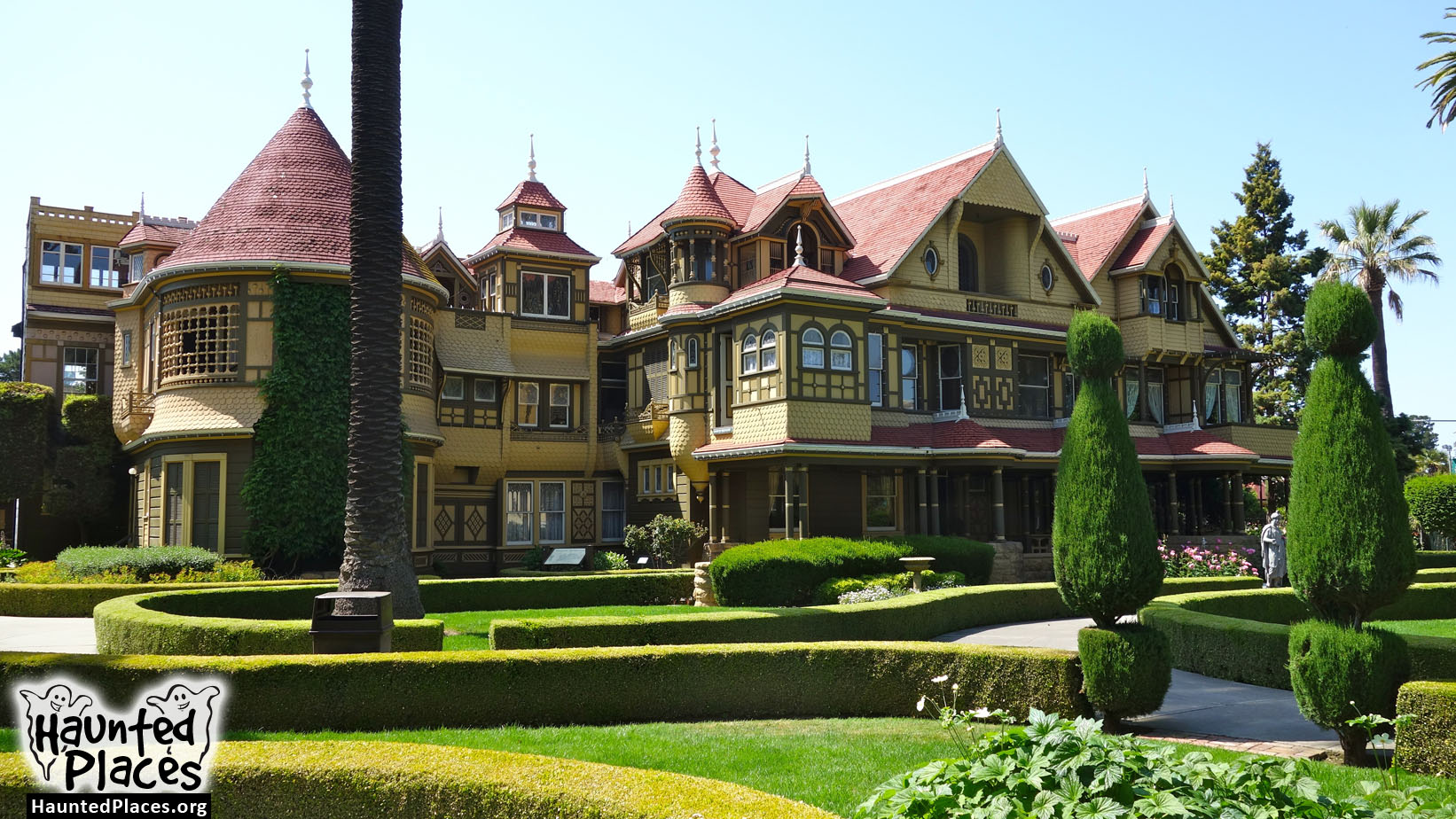 Winchester Mystery House | Haunted Places | San Jose, CA 95128