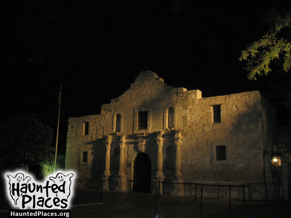 The Alamo Haunted Places San Antonio Tx 78205